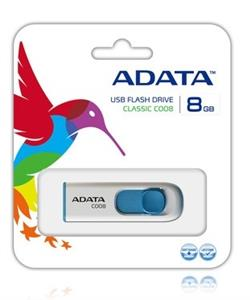 ADATA C008 Capless Sliding USB 2.0 Flash Memory 8GB